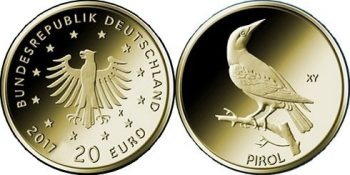 Germany 2017 20 euro Pirol