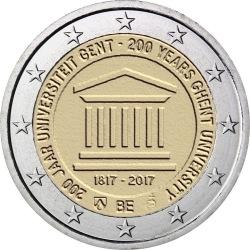 2 euro Belgium 2017 Gent