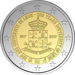 2 euro Belgium 2017 Liege