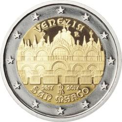 2 euro Italy 2017 San Marco