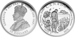 Canada 2015. 20 dollars. Flanders Fields