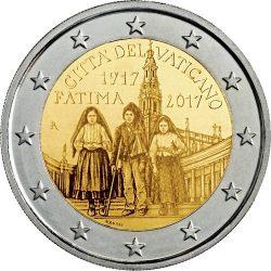 2 euro Vatican 2017 Fatima