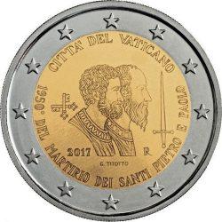 2 euro Vatican 2017 Pietro Paolo