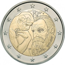2 euro France 2017 Rodin
