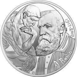 France 2017. 10 euro. Rodin