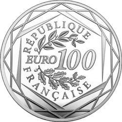 France 2017. 100 euro. Rodin