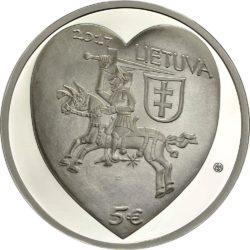 Lithuania 2017. 5 euro. Kaziukas