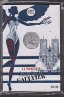 France 2017. 10 euro. Jean-Paul Gaultier. Champagne