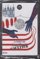 France 2017. 10 euro. Jean-Paul Gaultier. Lyon