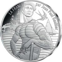 France 2017. 10 euro. Jean-Paul Gaultier. Provence