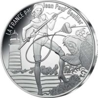 France 2017. 10 euro. Jean-Paul Gaultier. Bretagne