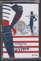 France 2017. 10 euro. Jean-Paul Gaultier. Roussillon