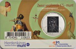 Netherland 2016. 5 euro. Bosch. coincard