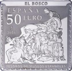 Spain 2016. 50 euro. Bosco