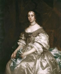 Портрет королевы Екатерины Брагансской (Питер Лели, 1663-1665, Британская королевская коллекция)