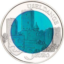 Luxemburg 2017. 5 euro Burg Useldingen