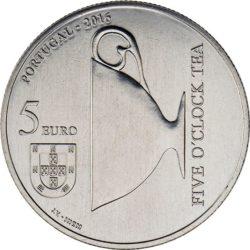 Portugal 2016. 5 euro. Catarina de Braganca