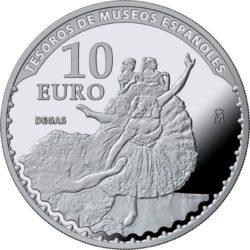 Spain 2017. 10 euro. Tesoros Museos Españoles