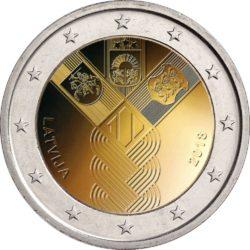2 euro Latvia 2018