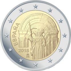 2 euro Spain 2018 Santiago de Compostela