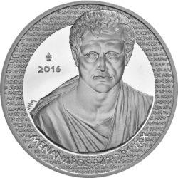 Greece 2016 10 euro Menander