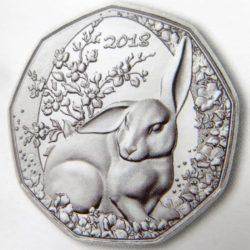5 евро «Пасхальный кролик»
