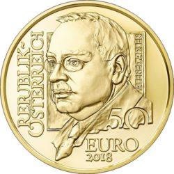 Austria 2018 50 euro Adler
