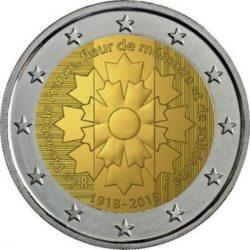 2 euro France 2018 Centaurea