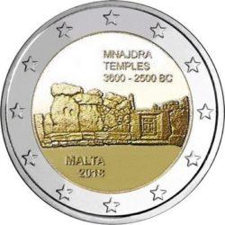 2 euro Malta 2018 Mnajdra