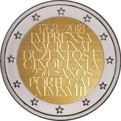 2 euro Portugal 2018 Print