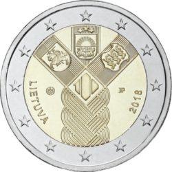 2 euro Lietuva 2018 Baltic