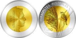 Luxembourg 2018 5 euro Phragmites australis