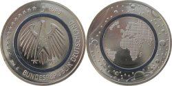 Germany 2016. 5 euro. Planet Erde
