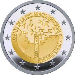 2 euro Andorra 2018 Declaracio