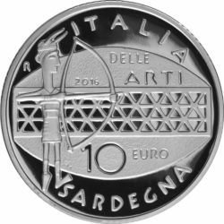 Italy 2016 10 euro Sardegna