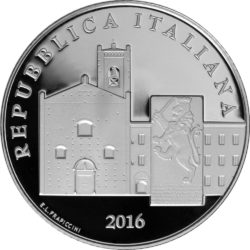 Italy 2016 5 euro Recanati