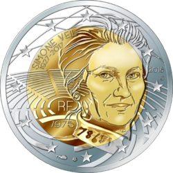 2 euro France 2018 Veil