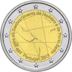 2 euro Portugal 2019 Madeira