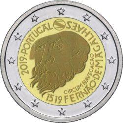 2 euro Portugal 2019 Magellan