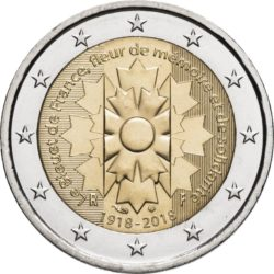 2 euro France 2018 Bleuet obv