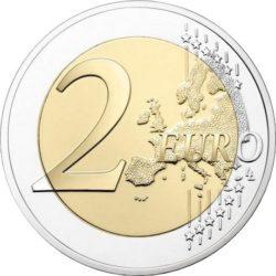 2 euro France 2018 Bleuet rev