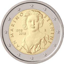 2 euro San Marino 2018 Gian Lorenzo Bernini