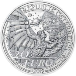 Austria 2019 20 euro Fly obv