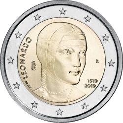2 euro Italy 2019 da Vinci