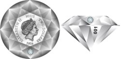Niue 2016 $2 Diamond
