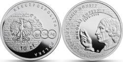 Polska 2017 10 zl Nicolaus Copernicus