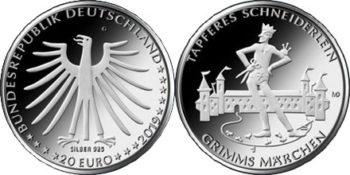 Germany 2019. 20 euro. Grimm