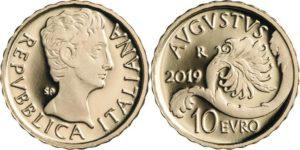 Italy 2019 10 euro Augusto