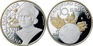 Italy 2019 10 euro Colombo