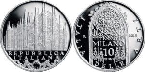 Italy 2019 10 euro. Milano
